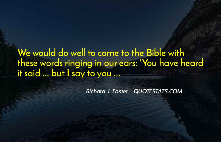 Quotes About Bible Ears #466449