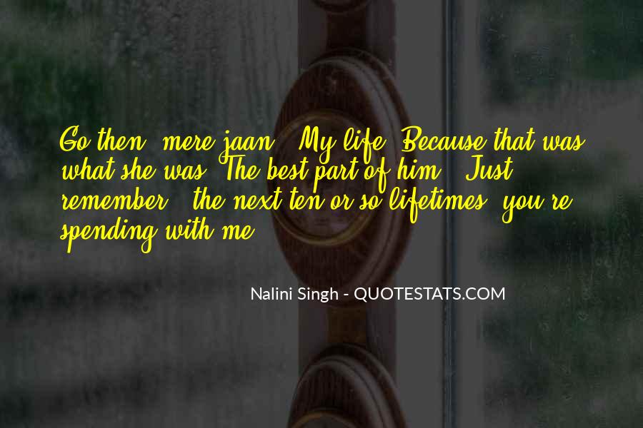U Are My Jaan Quotes #78650