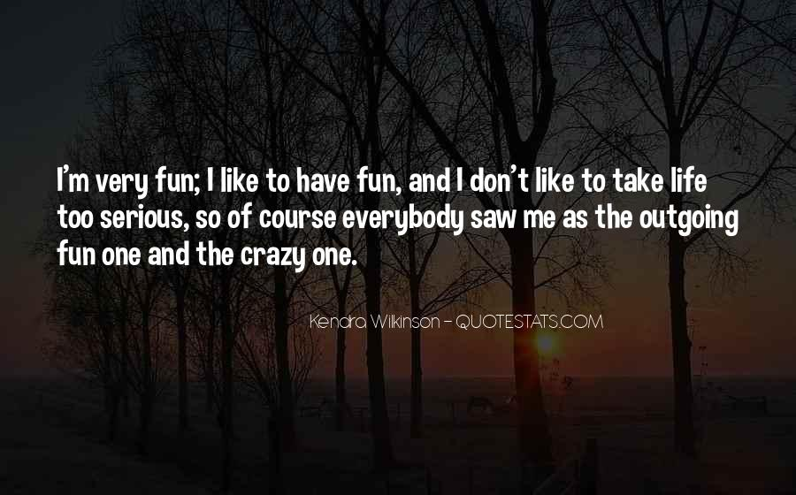 U Cant Be Like Me Quotes #178