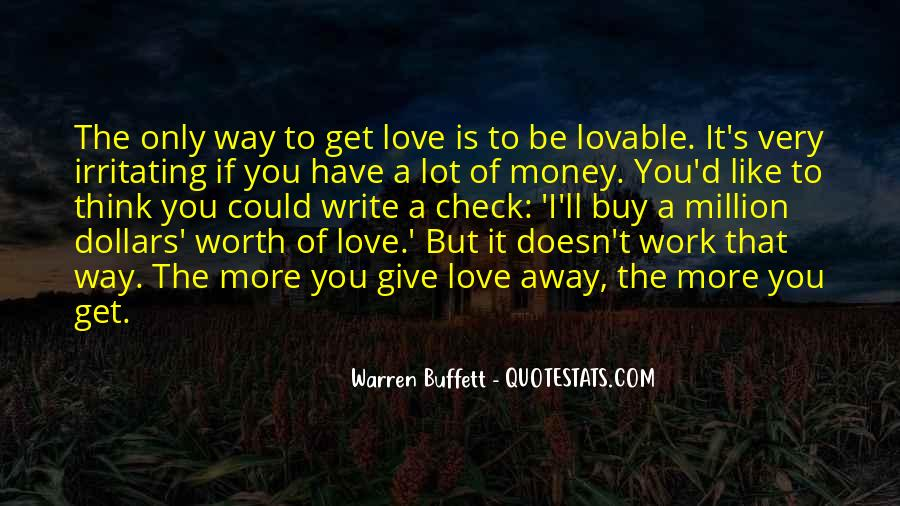 U Cant Buy Love Quotes #73546