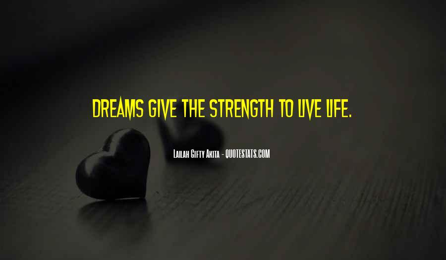 U Give Me Strength Quotes #118076