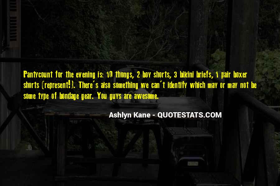 U Guys Are Awesome Quotes #1395023