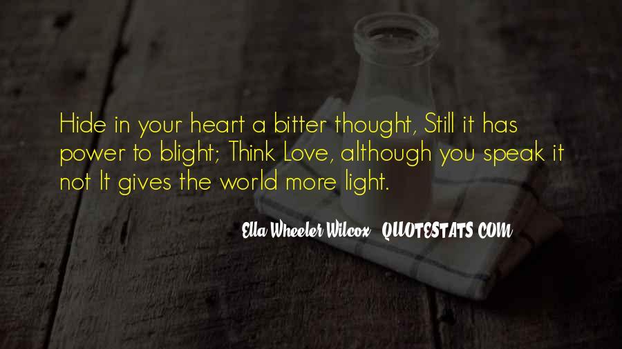 U Light Up My World Quotes #11756