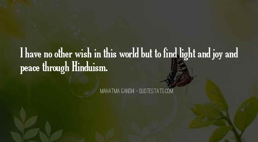 U Light Up My World Quotes #41629