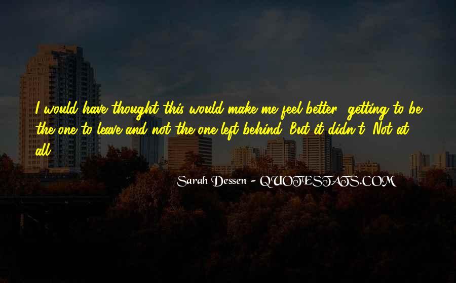 U Make Me Sad Quotes #102686