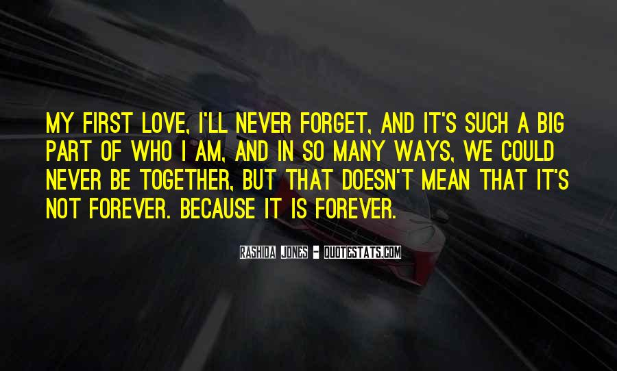 U N Me Together Forever Quotes #204799