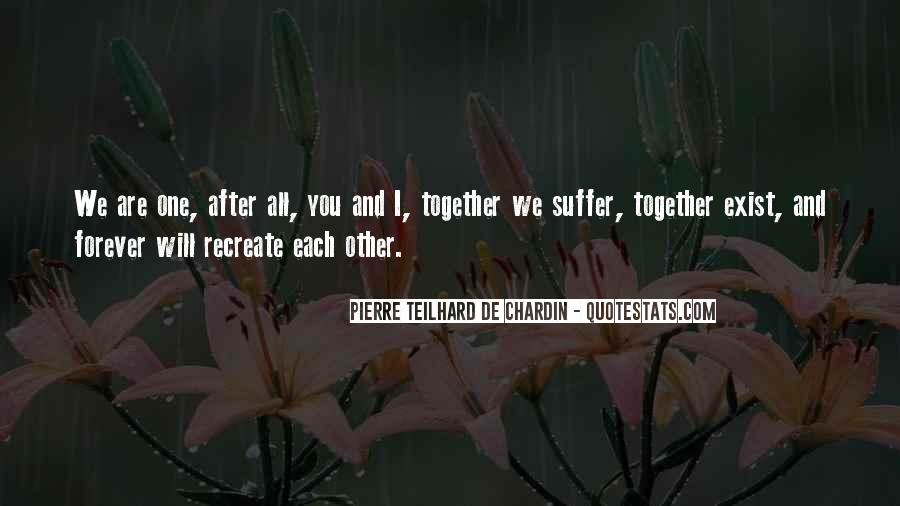 U N Me Together Forever Quotes #222442