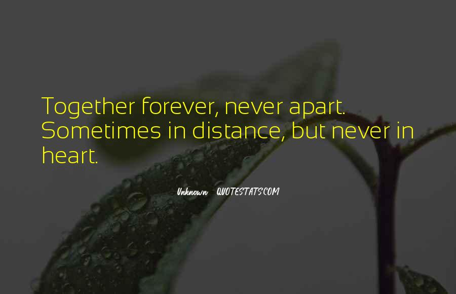 U N Me Together Forever Quotes #380675