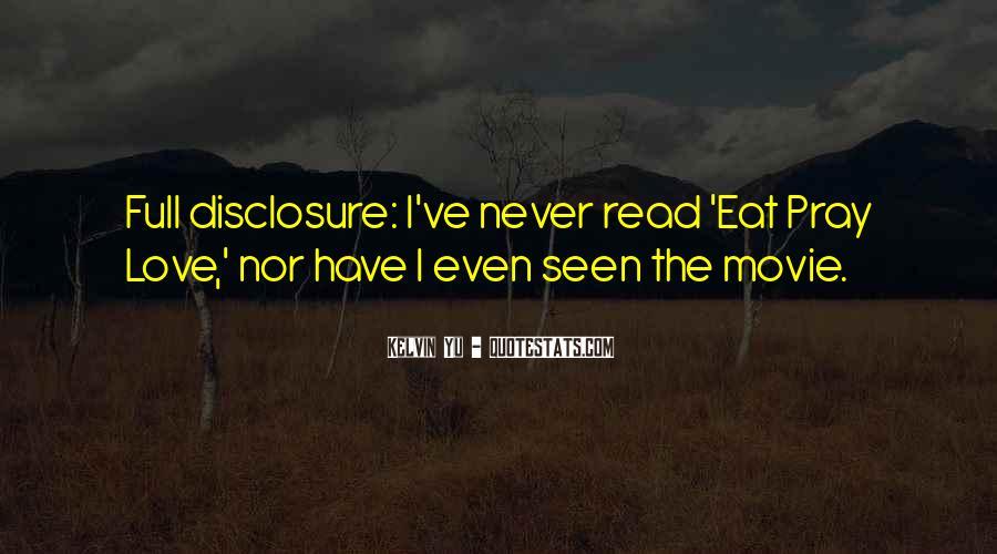 U Never Love Me Quotes #315