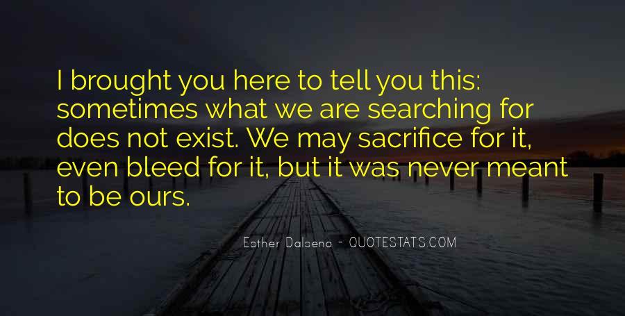 U Never Love Me Quotes #4067