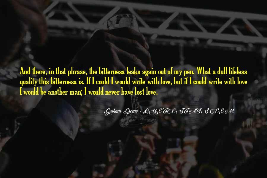 U Never Love Me Quotes #6487