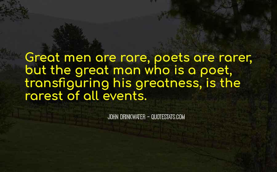 Quotes About Rare Events #931733