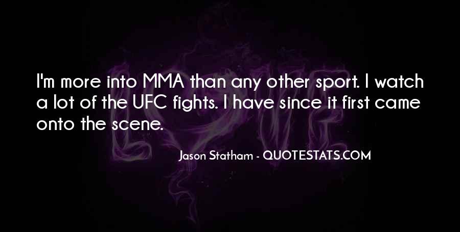 Ufc Mma Quotes #748202