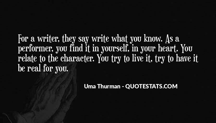 Uma Thurman Best Quotes #445835