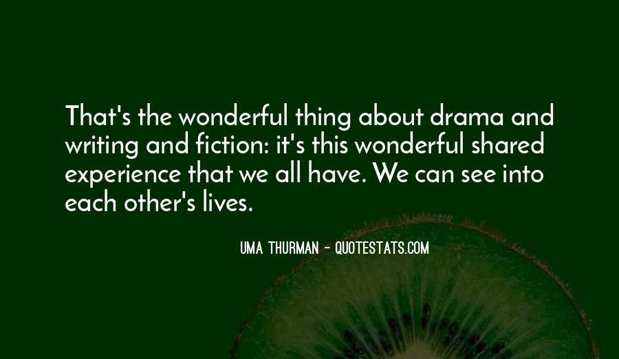 Uma Thurman Best Quotes #44623