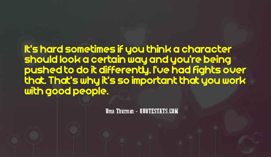 Uma Thurman Best Quotes #699790