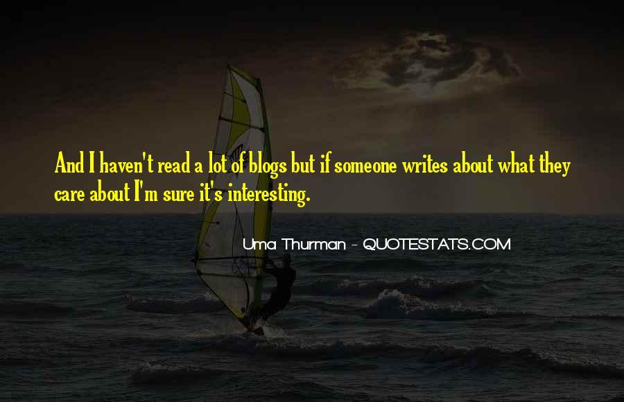Uma Thurman Best Quotes #73988