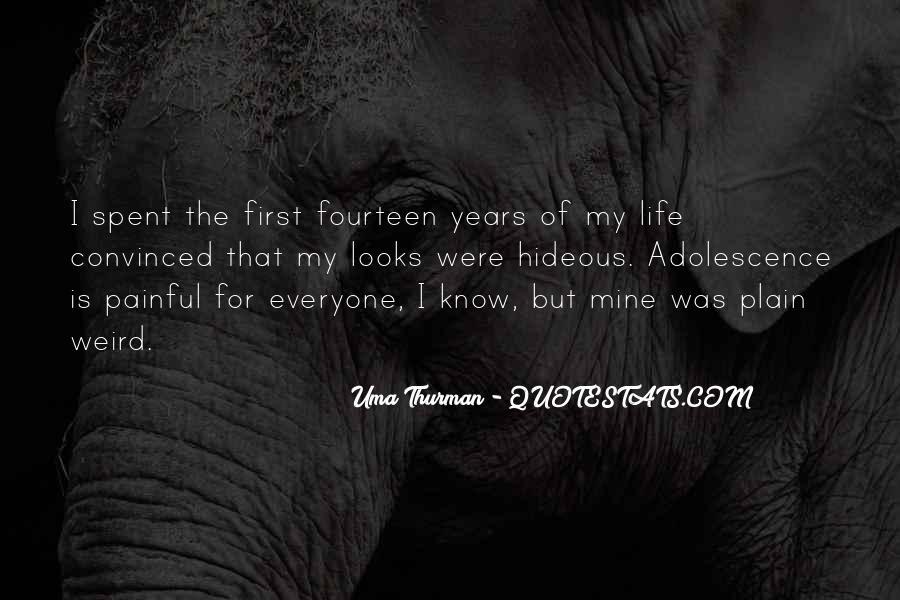 Uma Thurman Best Quotes #744071