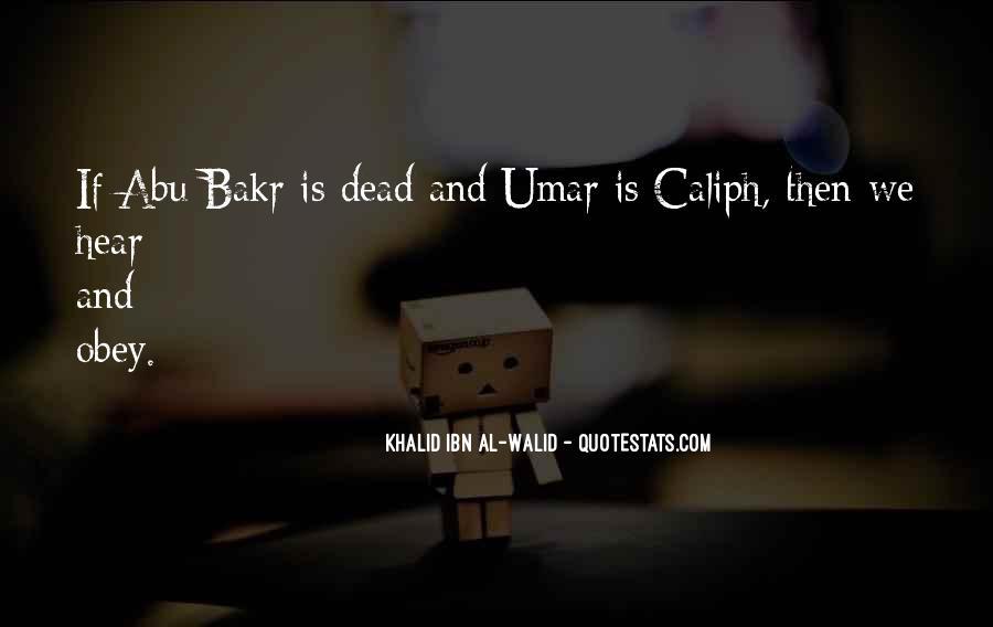 Umar Caliph Quotes #829399