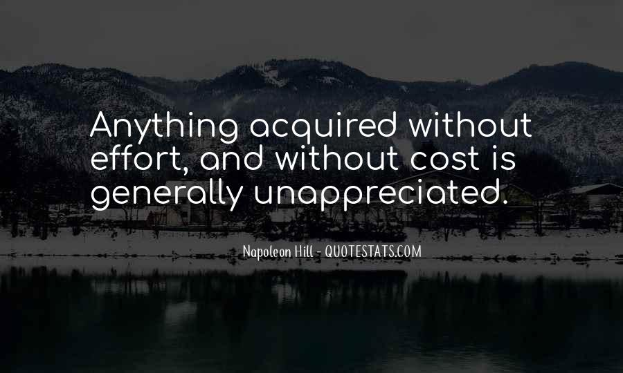 Unappreciated Quotes #1805844
