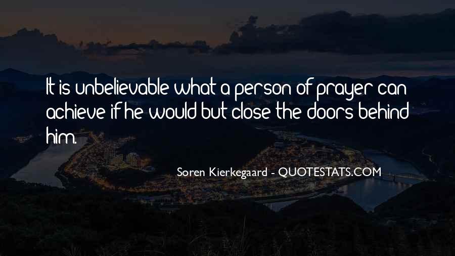 Unbelievable Person Quotes #1145194