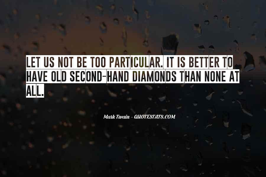 Quotes About Diamonds #214116