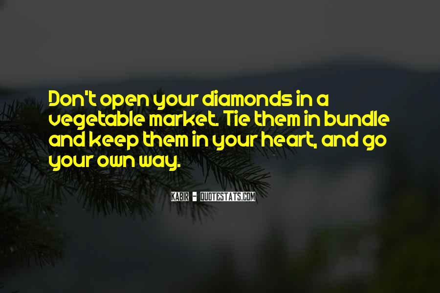 Quotes About Diamonds #30601