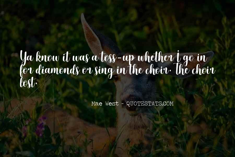 Quotes About Diamonds #61302