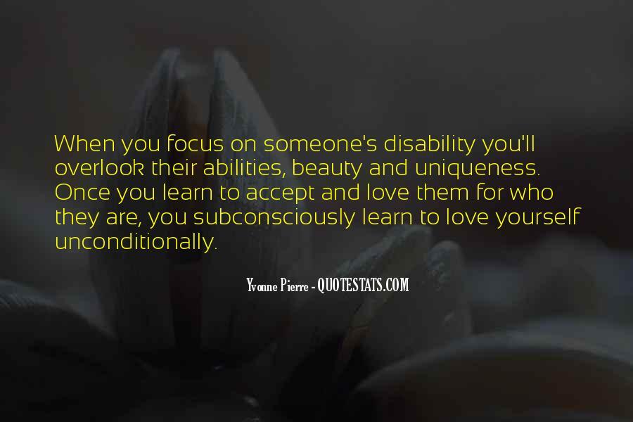 Unconditional Love Acceptance Quotes #1091675