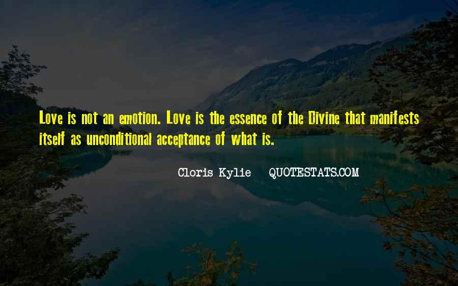 Unconditional Love Acceptance Quotes #134625