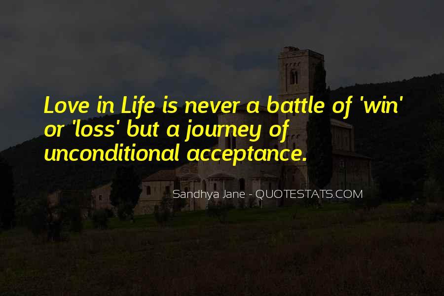 Unconditional Love Acceptance Quotes #1512757
