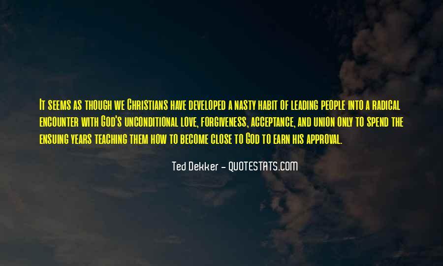 Unconditional Love Acceptance Quotes #305763
