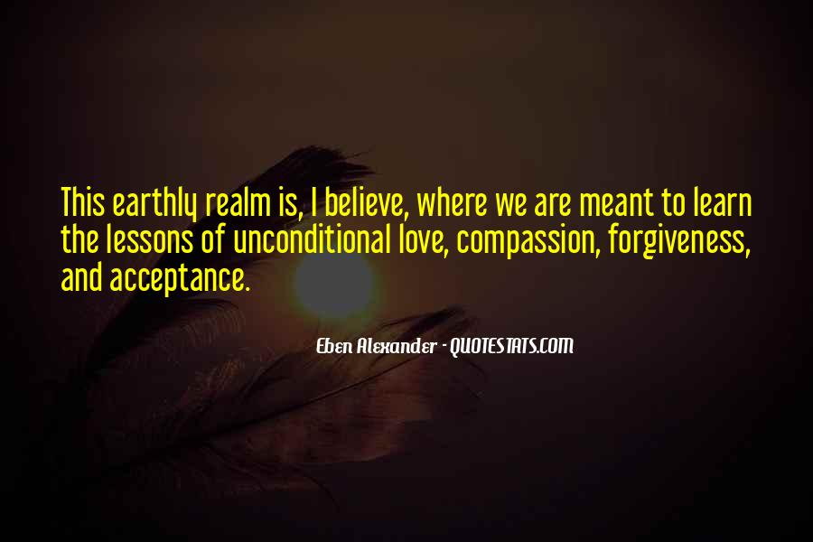 Unconditional Love Acceptance Quotes #447207