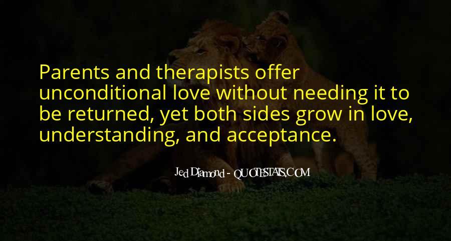 Unconditional Love Acceptance Quotes #722289