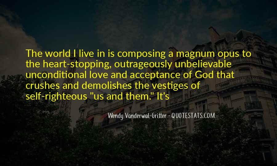 Unconditional Love Acceptance Quotes #840381