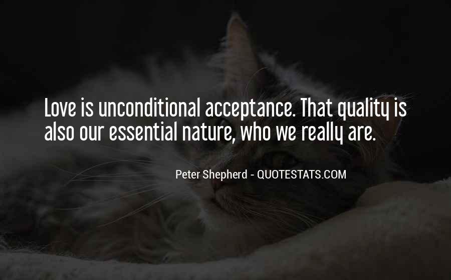 Unconditional Love Acceptance Quotes #929474