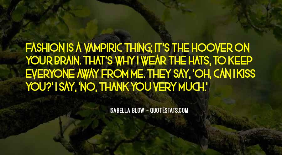 Quotes About Hats Fashion #692724
