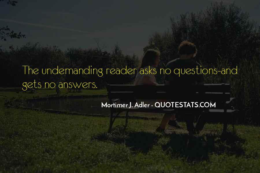 Undemanding Quotes #1590792