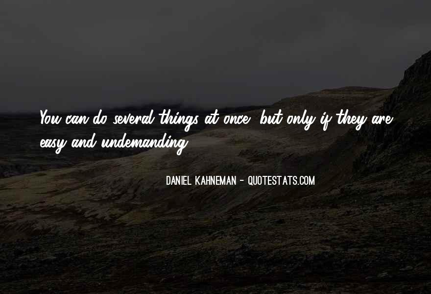 Undemanding Quotes #552451