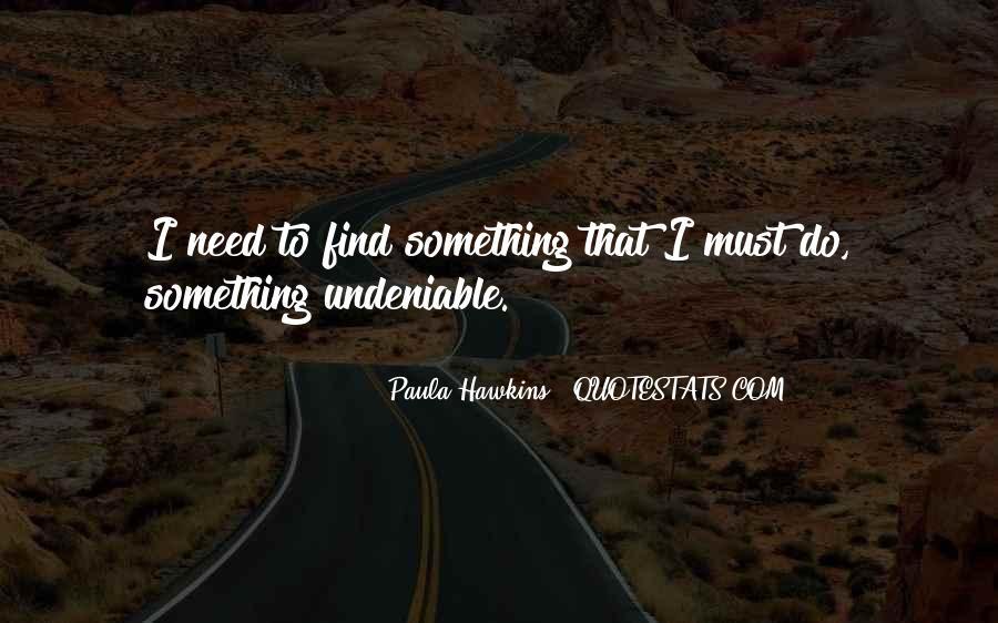 Undeniable Quotes #419748