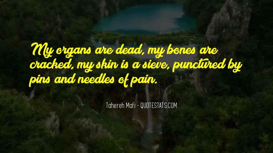 Under Our Skin Quotes #8013