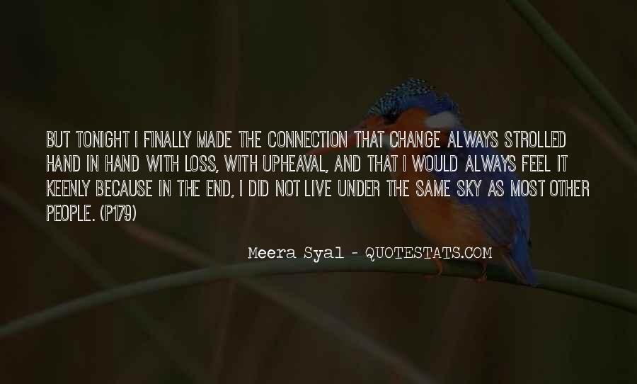 Under The Same Sky Quotes #1672311