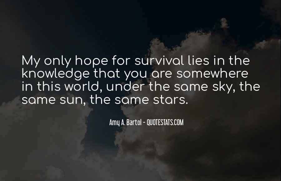 Under The Same Sky Quotes #83901