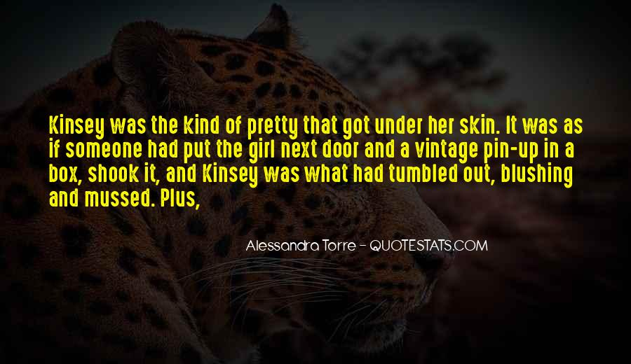 Under The Skin Quotes #188900