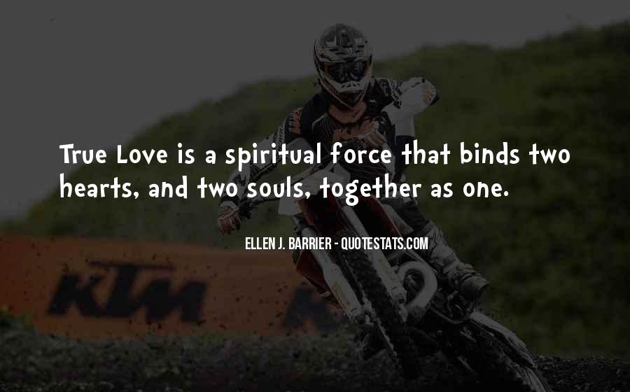 Quotes About Two Souls #756307