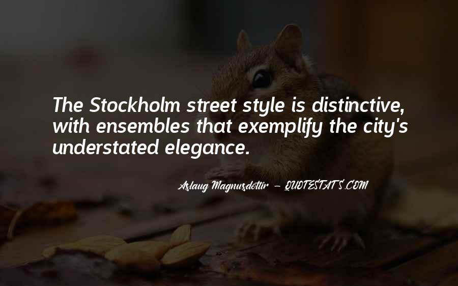 Understated Elegance Quotes #763445