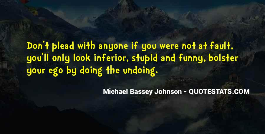 Undoing The Past Quotes #368179
