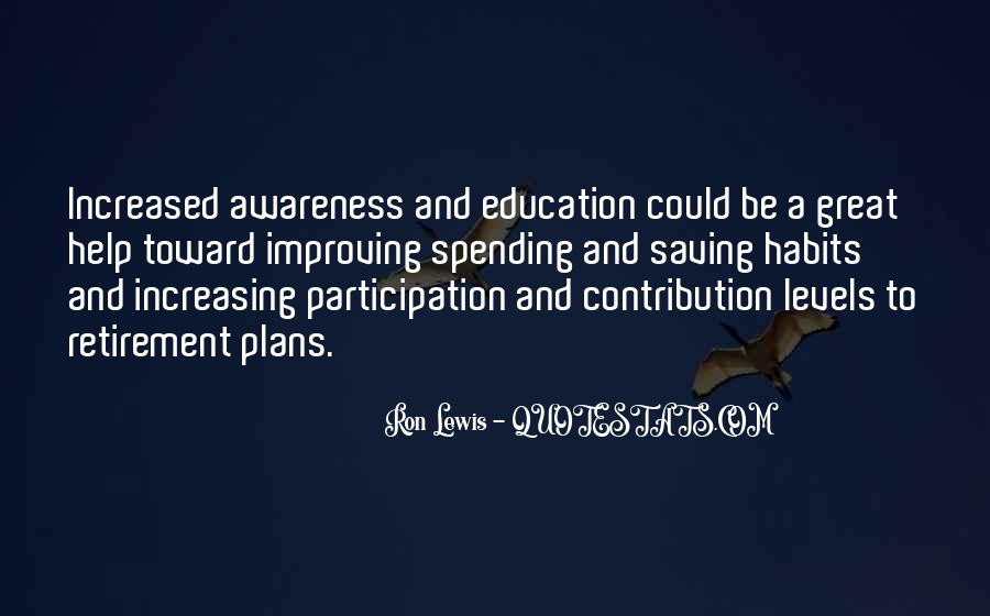 Quotes About Retirement From Education #1077885