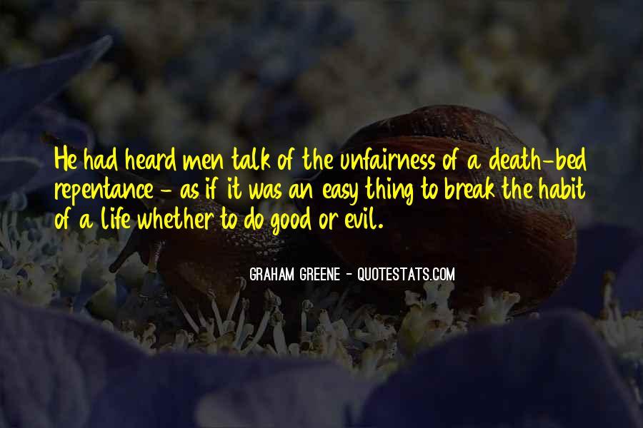 Unfairness Of Death Quotes #936222