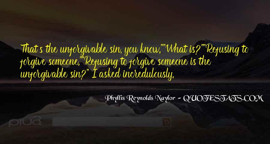 Unforgivable Sin Quotes #1127499